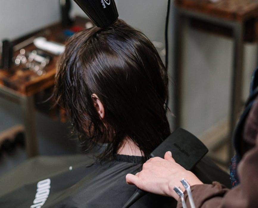 Friseur-Job